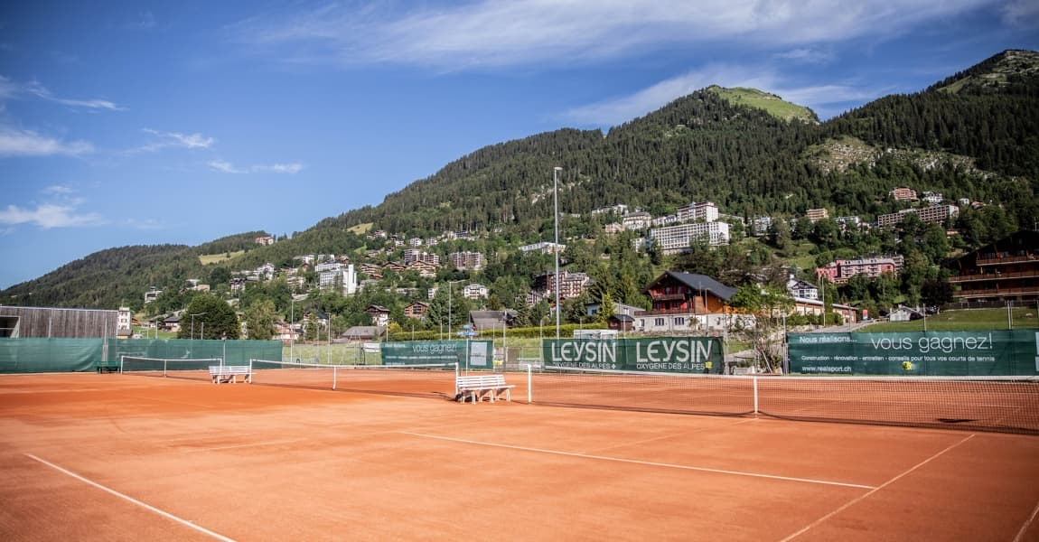 Kids Tennis Camp in the Swiss Alps