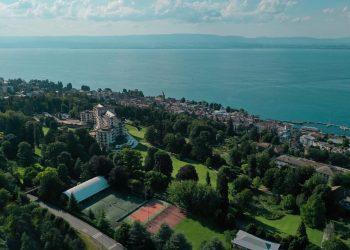 Summer Adults Tennis Camps at Evian Resort