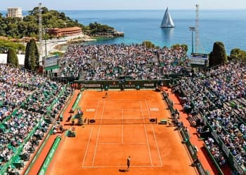 Play with a top 100 ATP in Monte-Carlo